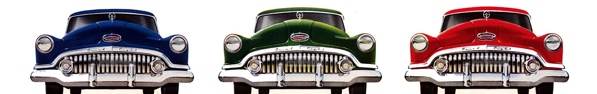 1952 Buick Models Slider