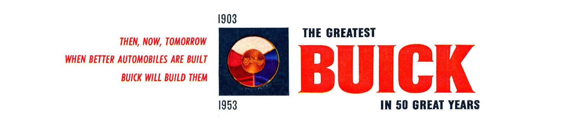 1953 Buick Anniversary