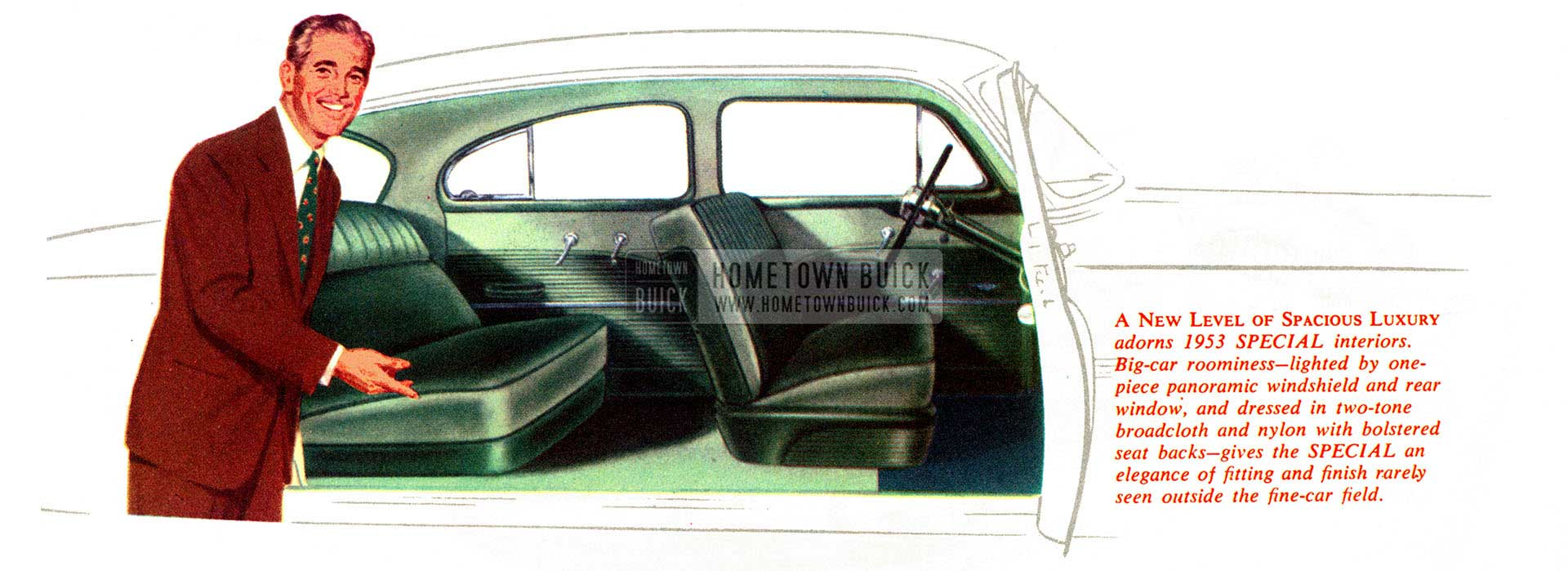 1953 Buick Interior Slider
