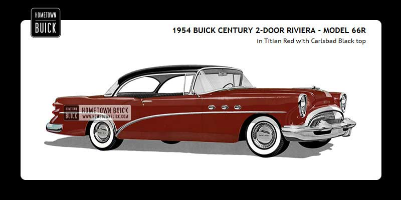 1954 Buick Coloring Tool