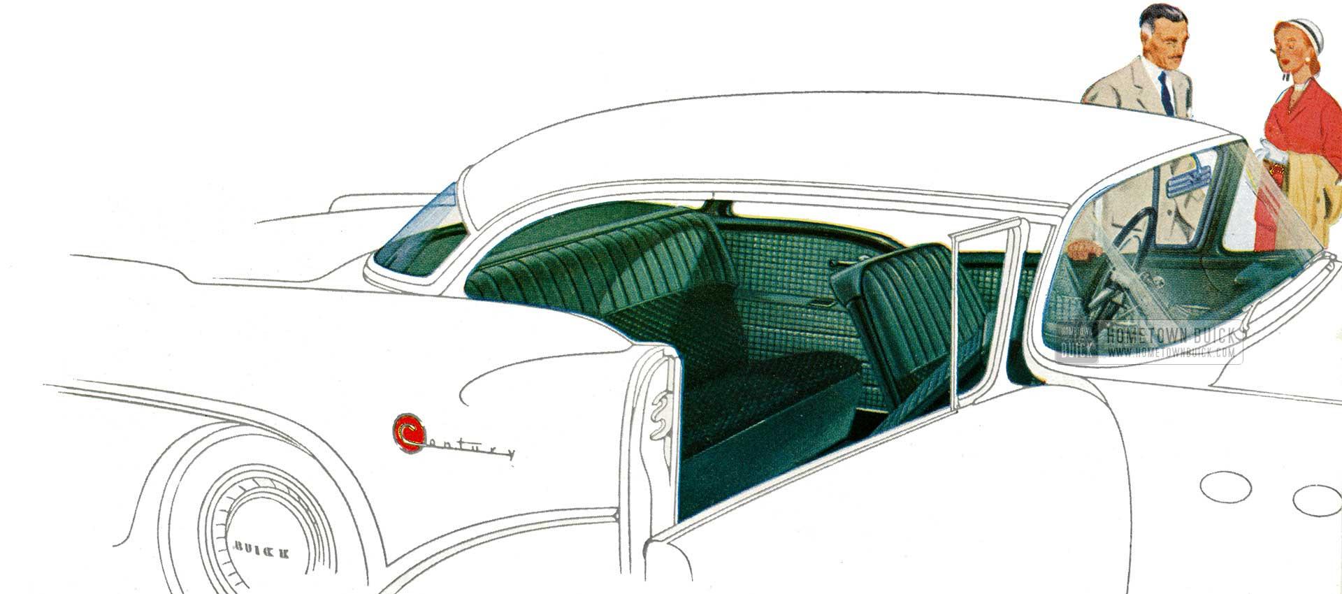1954 Buick Interior