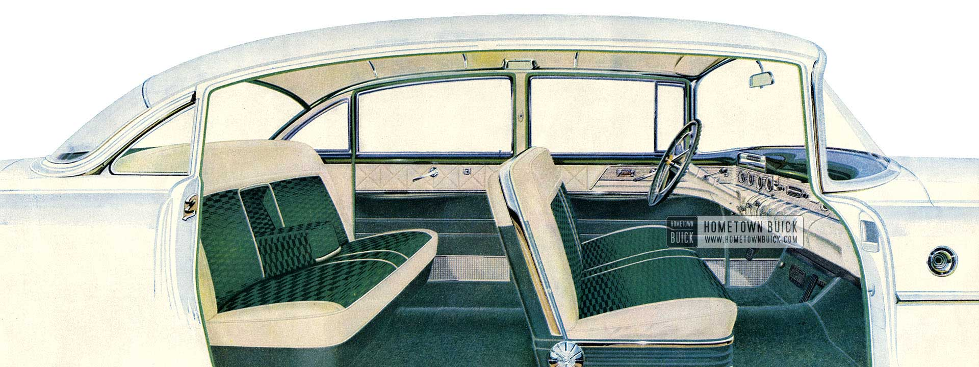 1955 Buick Interior Slider