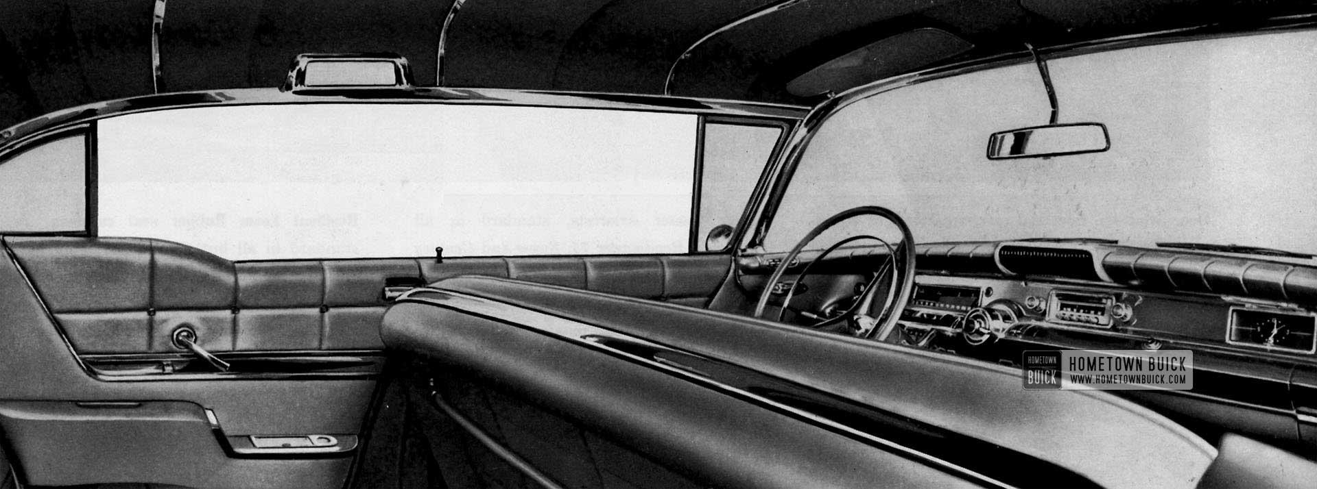 1958 Buick Interior Slider
