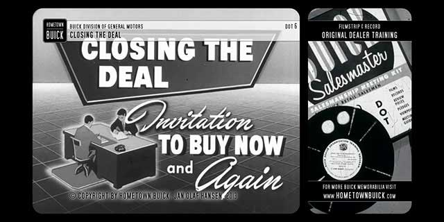1952 Buick - Closing the Deal