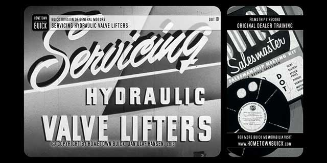 1952 Buick – Servicing Hydraulic Valve Lifters