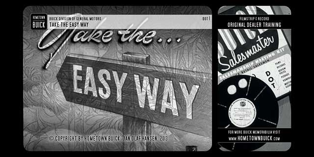 1952 Buick - Take the Easy Way