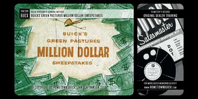 1953 Buick – Buick's Green Pastures Million Dollar Sweepstakes