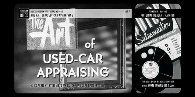 1953 Buick - The Art of Used-Car Appraising