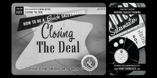 1954 Buick - Closing the Deal