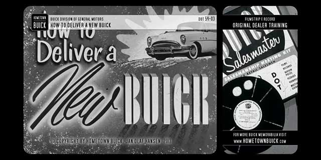 1954 Buick - How to Deliver a New Buick