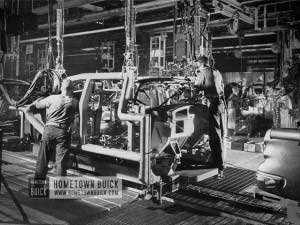 1954 Buick Production