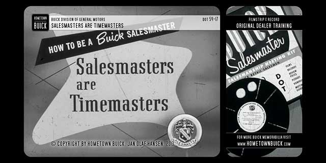 1954 Buick - Salesmasters are Timemasters