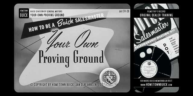 1954 Buick - Your Own Proving Ground