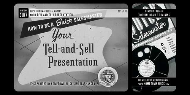 1954 Buick - Your Tell-and-Sell Presentation