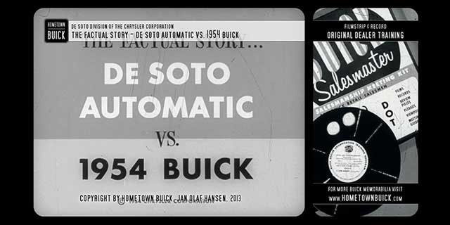 1954 DeSoto Automatic vs. 1954 Buick