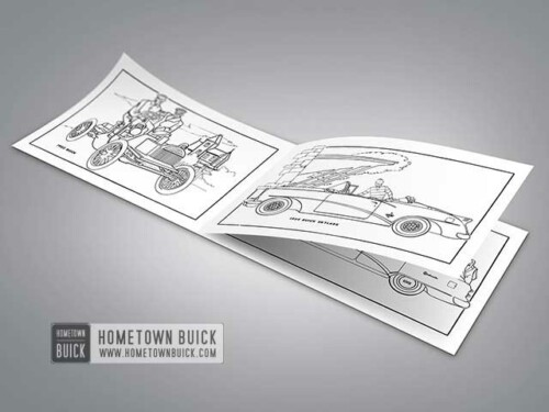 1954 Buick Coloring Book 02
