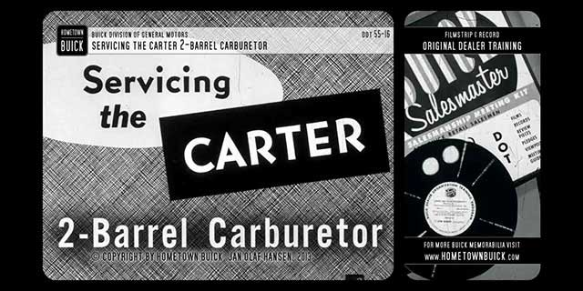 1955 Buick - Servicing the Carter 2-Barrel Carburetor