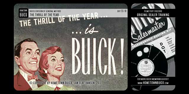 1955 Buick - The Thrill of the Year