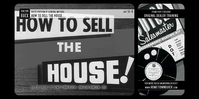 1956 Buick - How to Sell the House!