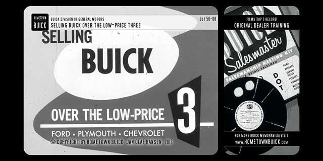 1956 Buick - Selling Buick over the Low-Price Three