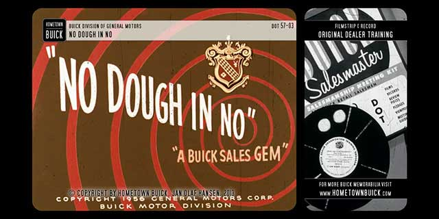 1957 Buick - No Dough in No