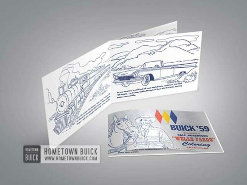1959 Buick Coloring Book 01