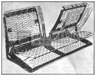 1950 Buick Combined Seat Frame and Zig-zag Spring