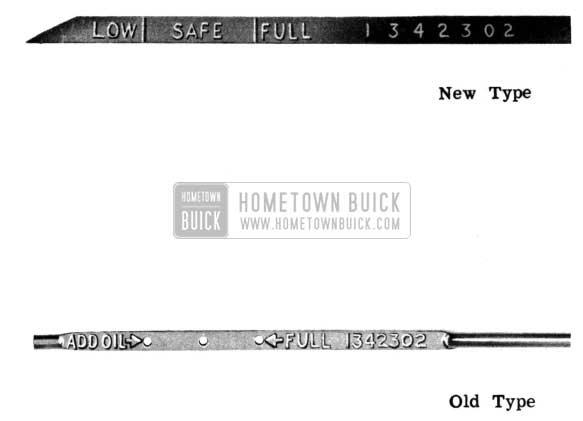 1950 Buick Crankcase Oil Gage Rod