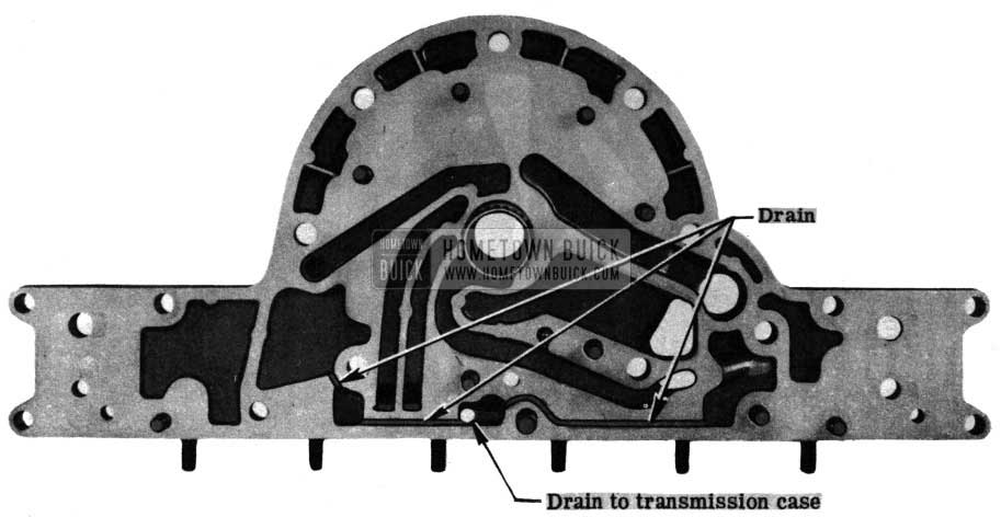 1950 Buick Dynaflow Reaction Flange and Front Pump Cover Gasket
