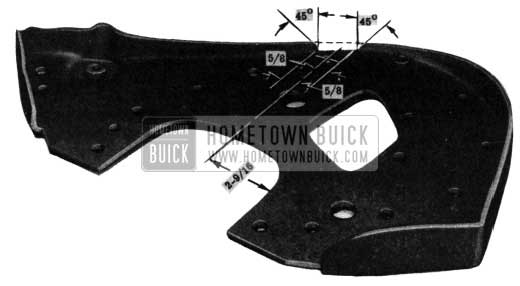 1950 Buick Engine Support-Front