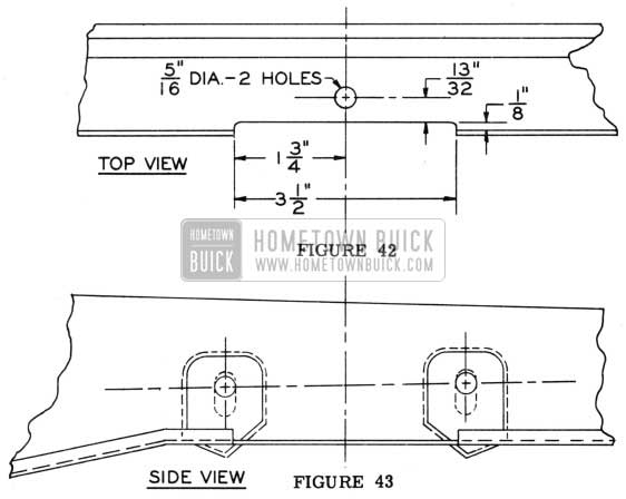 1950 Buick Fender Works for Hood Mechanism
