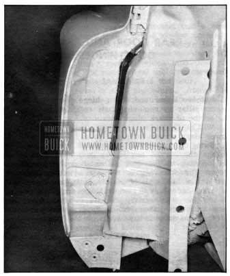 1950 Buick Front Door Hinge Installation
