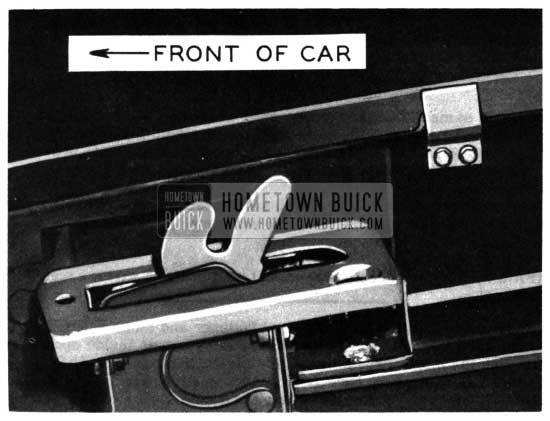 1950 Buick Hood Spacers