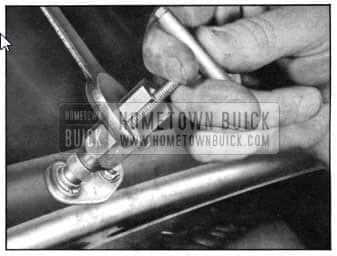 1950 Buick Installing Windshield Wiper Transmission
