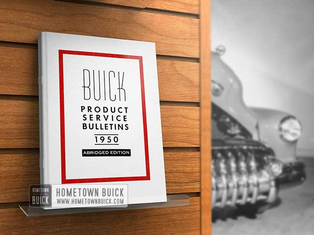 1950 Buick Product Service Bulletins AE