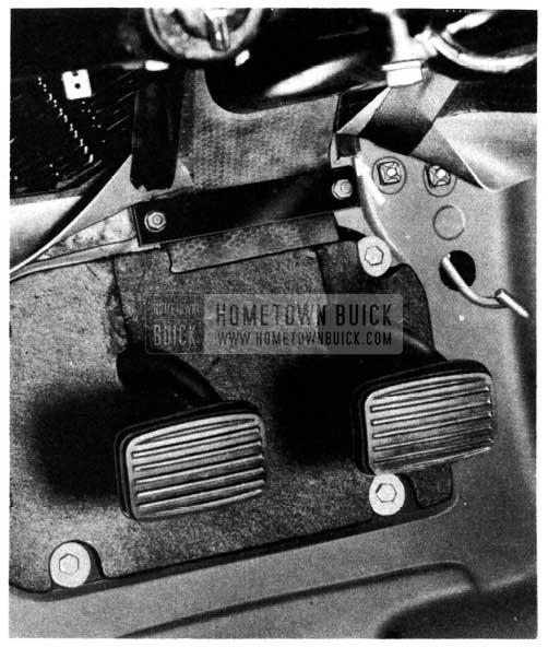 1950 Buick Steering Column Dash Pad Bar