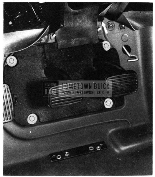 1950 Buick Steering Column Dash Pad