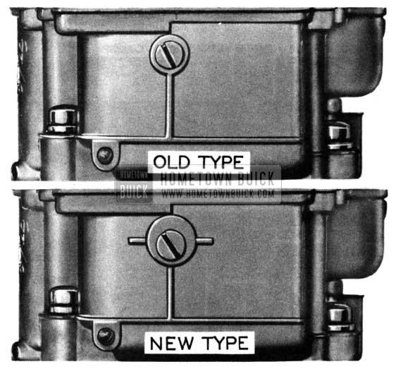 1950 Buick Carburetor (Stromberg) Main Body Change