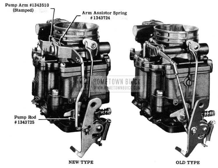 1950 Buick Carburetor (Stromberg) Starter Switch