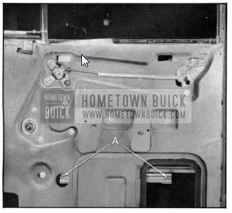 1950 Buick Window Lower Sash Channel