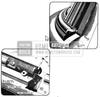 1950 Buick Windshield Belt Molding