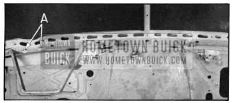 1950 Buick Windshield Wiper Mechanism