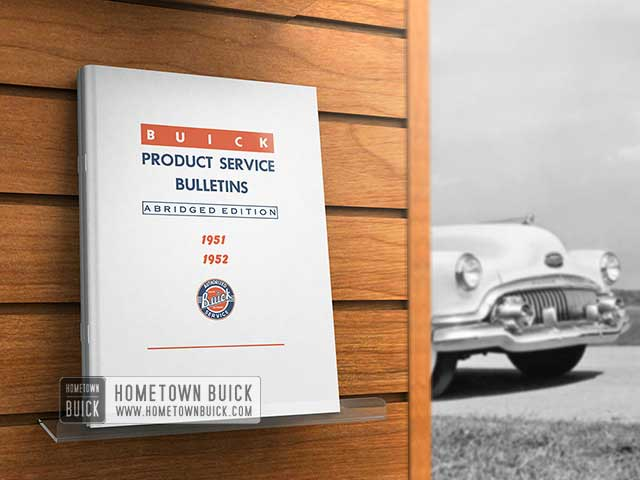 1951 1952 Buick Product Service Bulletins