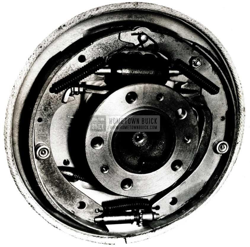 1951 Buick Brake Assembly