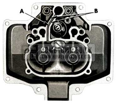 1951 Buick Carter Carburetor Seating Surface