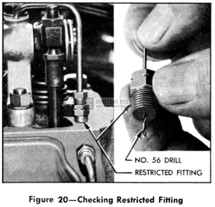 1951 Buick Checking Restricted Fitting