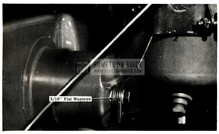 1951 Buick Crankcase Flat Washers