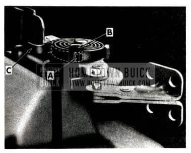 1951 Buick Door Check Link Noise