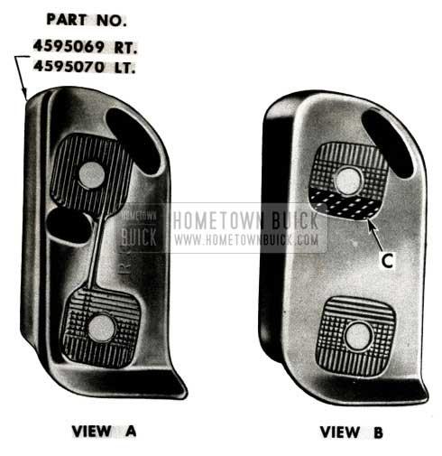 1951 Buick Door Lock Striker