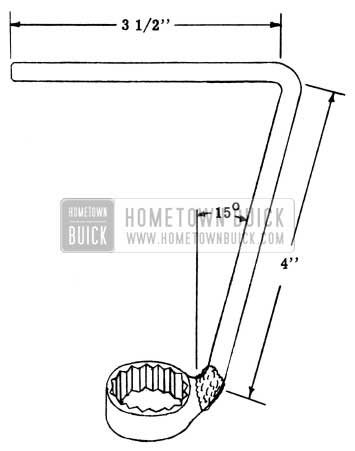 1951 Buick Fender Guard Wrench